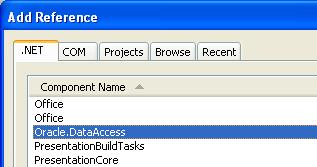 Adding Oracle Client library